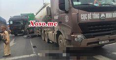 Tai nạn tại ngã tư Trâu Quỳ, 2 nam thanh niên nguy kịch