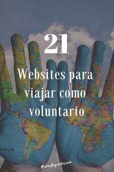Websites para viajar por el mundo como voluntario Blog, Places To Visit, Viajes, Blogging