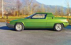 OG  Fiat X1/10 'Icsunodieci'   Bertone's design proposal penned by Gandini.