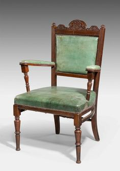 Late 19th Century mahogany framed Elbow Chair - Windsor House Antiques