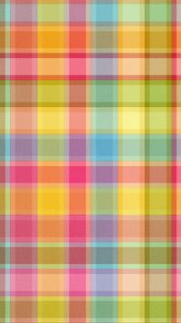 Papel de parede móvel padrão xadrez abstrata multicolorida