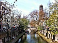Utrecht, The Netherlands - Oudegracht by Clarissa Mattos, via Flickr