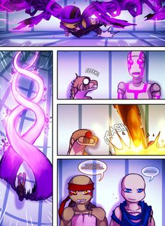 Teenage Mutant Mages Turtles Page 12 by GolzyBlazey on DeviantArt