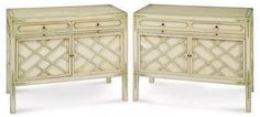 William Haines bedside cabinets 1960