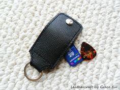 100% hand stitched handmade black cowhide by leathercraftbygrace