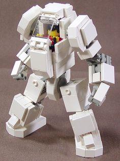 Lego Mech Warrior by Dou Moko