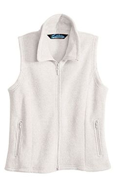 Women's Outerwear Vests - Womens Fashion Tailored Fit AntiPilling Micro Fleece Crescent Vest 11 Colors *** Be sure to check out this awesome product. (This is an Amazon affiliate link)