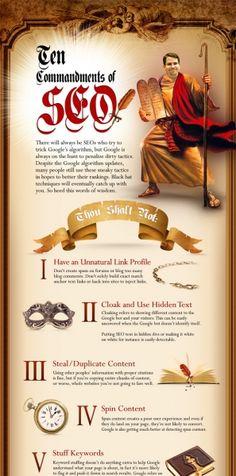 10 Commandments of SEO
