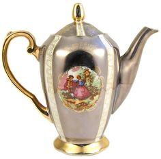 Oriental - BEAUTIFUL Vintage Victorian Era Reproduction Porcelain Coffee/Tea Set for sale in Mossel Bay (ID:110114063)