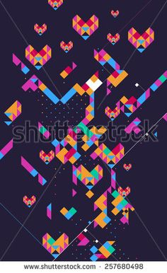 #colorful #geometric #background #vector #pattern #cool #modern #techno #coldplay #british #newage #triangle #music #art #design #pink #stock #square, #pattern #art #vector #design #abstract #green #square #particle #imagination #graphic #popular