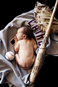 Baseball Baby; and if it's a girl doing this with my volleyball stuff!