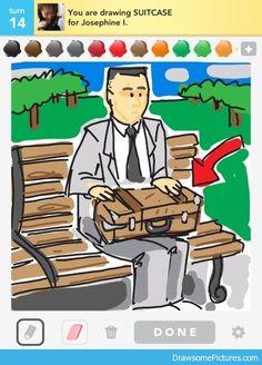 Suitcase! -Forest Gump