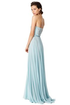 Nigella blue dress