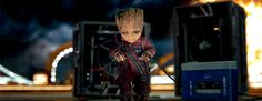 kamala-khan:    Baby Groot in new Guardians of the Galaxy Vol 2 TV Spot