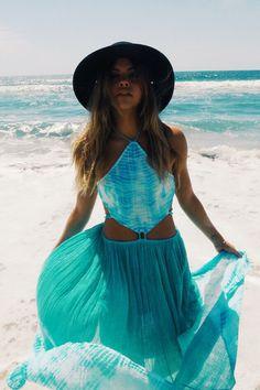 Beautiful ocean dress from Jen's Pirate Booty  https://www.etsy.com/shop/JillyJillJewelry