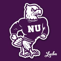 Niagara University Purple Eagles designed by Studio Lucha. the global community for designers and creative professionals. Eagle Design, Old Logo, Mascot Design, Thing 1, School Logo, Eagles, Character Design, Concept, Graphic Design