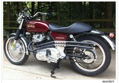 MotArt: 1970 Norton Roadster