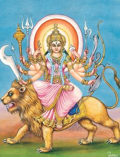 Exact Dipiction of Devi from Devi Mahatmya Shiva Shakti, Shiva Parvati Images, Durga Kali, Durga Images, Durga Puja, Kali Goddess, Indian Goddess, Goddess Art, Mother Kali