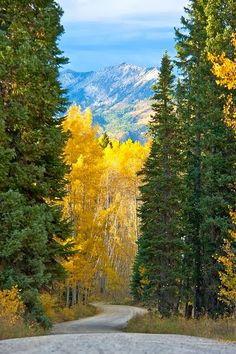 Осень в предгорье