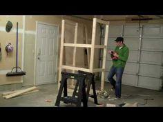 How to Build a Garage Cabinet in Under 2 Minutes Cheap Garage Cabinets, Building A Garage, Diy Garage, Garage Ideas, Rolling Storage, Workshop Storage, Home Tools, Kitchen Cupboards, Kitchen Island