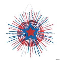 4th July Crafts, Fourth Of July Decor, Patriotic Crafts, All Craft, Crafts For Kids, Arts And Crafts, Craft Kits, Craft Projects, Fireworks Craft For Kids