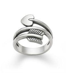 James Avery Arrow & Heart Ring