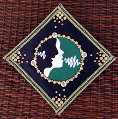 My University of South Florida (USF) Speech Language Pathology graduation cap