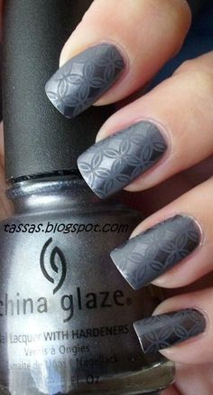 KOTD: Essence TE Surfer Babe Pointbreak + China Glaze Awaken + konad plate For change from all the strong and contrasting konadicure. Get Nails, Fancy Nails, Love Nails, How To Do Nails, Pretty Nails, Hair And Nails, Fingernail Designs, Nail Art Designs, Stamping Nail Art