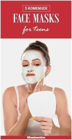 Is your teen worried about her skin? Here are some simple homemade face masks for teenage skin that promise to naturally nourish