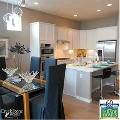 "We'll be featured at the Parade of Homes - Colorado Springs August 1-17, 2014. ""A Little Gem"", located at 5555 Wolf Village Dr., will be open from 10 a.m. to 6 p.m. To get there, head North on Powers Blvd. Wolf Ranch is at the intersection of Research Parkway and Powers Blvd. Here's directions from #ColoradoSprings and #Denver : http://www.wolf-ranch.com/directions"