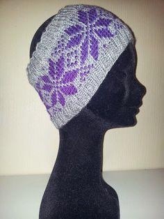 Ida Amalies Hobbykrok: Nancy pannebånd Mittens, Beanie, Knitting, Crochet, Crafts, November, Diagram, Scarves, Knits