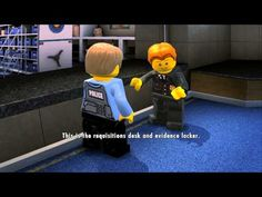 LEGO City Undercover (Wii U) - Complete Playthrough - Chapter 1 'New Faces and Old Enemies' - YouTube