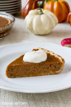 Classic Pumpkin Pie with Bourbon Whipped Cream