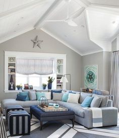 beach living room idea decor for yellow wall 162 best rooms by the sea images in 2019 coastal 18 gorgeous designs your inspiration
