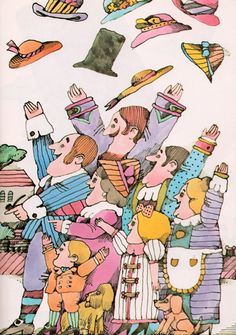 The Cat and the Fiddler - written by Jacky Jeter, illustrated by Lionel Kalish (1968)