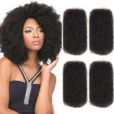 Hair Extensions & Wigs Styleicon Human Braiding Hair Bulk 3 Bundles Remy Mongolian Afro Kinky Bulk 50 Gram/ Piece Kinky Curly Hair Crochet For Braiding Hair Weaves