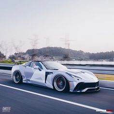 Rate this widebody C7 1-10 ! @darwinproaero X Corvette Carbon Wide Body  Follow [ @dpjack_ & @darwinproaero ] Follow [ @dpjack_ & @darwinproaero ] #darwinpro #corvette #stingray #c7 #z06 #z51 #widebody #carbon [ Edited by @carlifestyle ]