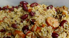 Cajun Dirty Rice Recipe | Allrecipes Dirty Rice Mix Recipe, Mixed Rice Recipe, Rice Recipes, Dinner Recipes, Cooking For A Crowd, Ground Beef, Sausage, Spicy