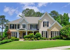 Amazing 5 bedroom, 4 bath, 3 car garage home located in desirable Bridgemill S/D. Home features plantation shutters