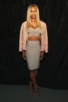Laverne Cox - Celebrity Fashion Trends