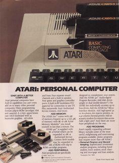 Atari 800 Personal Computer Ad 1980