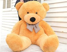 "Giant Stuffed Animals | 2013 New Cute Giant 33"" Teddy bear Doll Large plush toys Teddy bear ..."