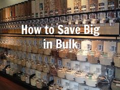 how to save big in bulk buying