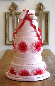 Bobbette & Belle | Custom Luxury Wedding Cakes - Ballet Dancing