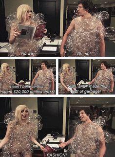 Lady Gaga Fashion (SNL)