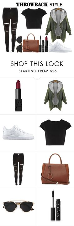 """""""Untitled #53"""" by jazz13-896 on Polyvore featuring NARS Cosmetics, NIKE, Alice + Olivia, River Island, Fendi, Christian Dior, women's clothing, women's fashion, women and female"""