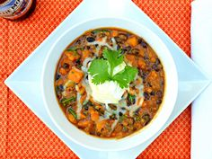 Serena Bakes Simply From Scratch: Chipotle Chicken Sweet Potato Pumpkin Ale Chili