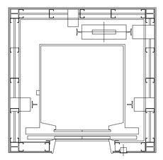 Glass elevator dwg dwg pinterest glass elevator for Elevator plan drawing