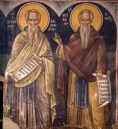 Byzantine Icons, Byzantine Art, Religious Icons, Religious Art, Orthodox Icons, Illuminated Manuscript, Cathedral, Saints, Religion