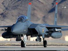 USA - Air Force; McDonnell Douglas F-15E Strike Eagle; 91-0330 (cn 1237/E195) Red Flag 14-1